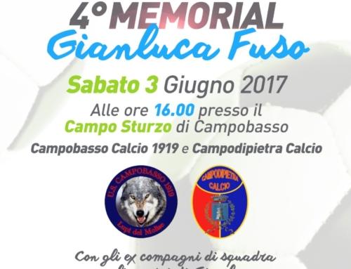 """4° memorial """"Gianluca Fuso"""""""